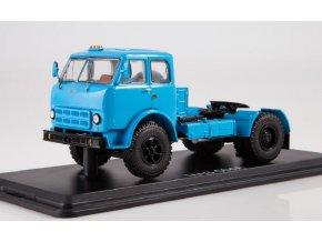 Start Scale Models - MAZ-500A, nákladní tahač (modrá), 1/43