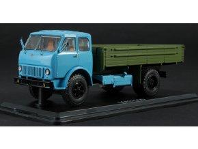 Start Scale Models - MAZ-500 s valníkem (modro-khaki), 1/43