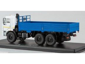 Start Scale Models - KAMAZ-43118, 6x6, valník (bílo-modrý), 1/43