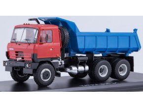 Start Scale Models - Tatra-815 S1, sklápěčka (červeno-modrá), 1/43