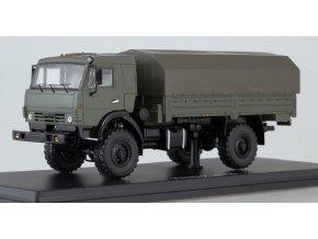"""Start Scale Models - KAMAZ-4350 """"Mustang"""" 4x4, nákladní s plachtou, Rusko, 1/43"""
