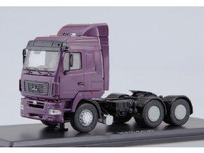 Start Scale Models - MAZ-6430, tahač (fialová), 1/43