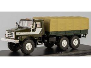 Start Scale Models - UrAL-43223, nákladní s plachtou, 1/43