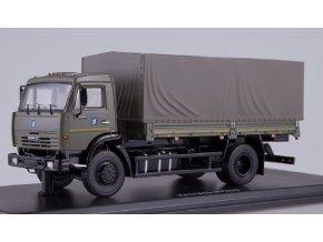 Start Scale Models - KAMAZ-43253, nákladní s plachtou, Rusko, 1/43