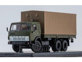 Start Scale Models - KAMAZ-53212, nákladní s plachtou, Rusko, 1/43