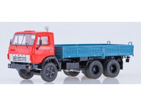 Start Scale Models - KAMAZ-5320, nákladní (červená-modrá), 1/43