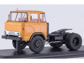 """Start Scale Models - KAZ-608, """"Kolhida"""" tahač (tmavě žlutá), 1/43"""