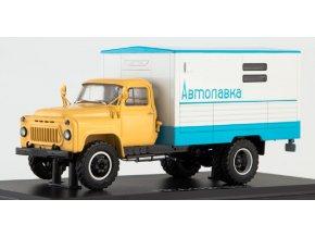 Start Scale Models - GZSA-3723 (GAZ-53A), pojízdná prodejna, 1/43
