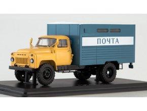 Start Scale Models - GZSA-3712 (GAZ-52), nákladní poštovní, 1/43