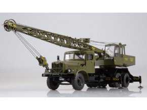 Start Scale Models - Autojeřáb KS-4561 (KRAZ-257), khaki, 1/43