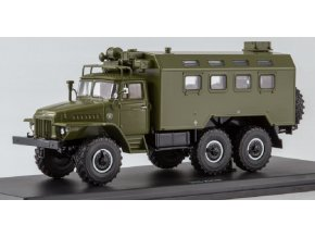 Start Scale Models - K-375 (URAL-375) Kung, khaki, 1/43