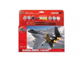 Airfix - McDonnell Douglas F-15A  Eagle, Starter Set A55311, 1/72