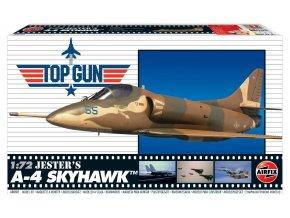 Airfix - Top Gun Jester's A-4 Skyhawk, Classic Kit A00501, 1/72