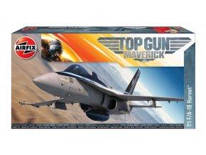 Airfix - Top Gun Maverick F/A-18 Hornet - Classic Kit A00504, 1/72