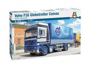 Italeri - VOLVO F16 Globetrotter Canvas,  Model Kit 3945, 1/24