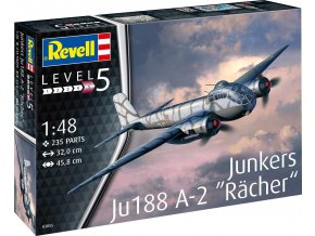 """Revell - Junkers Ju188 A-1 """"Rächer"""" , ModelKit 03855, 1/48"""