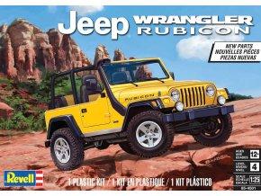 Revell - Jeep® Wrangler Rubicon, ModelKit MONOGRAM 4501, 1/25
