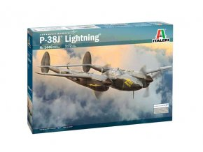 "Italeri - P-38J ""Lightning"", Model Kit letadlo 1446, 1/72"
