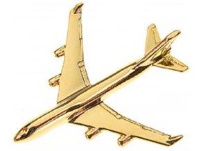 Clivedon - Boeing B747-400 Jumbo Jet, připínací odznak