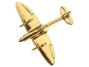 Clivedon - Supermarine Spitfire, připínací odznak