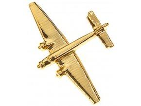 Clivedon - Junkers Ju 52, připínací odznak