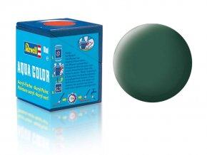 Revell - Barva akrylová 18 ml - č. 39 matná tmavě zelená (dark green mat), 36139