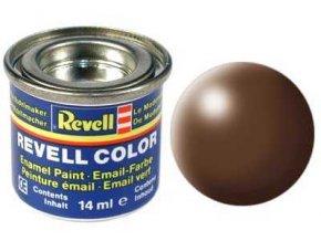 Revell - Barva emailová 14ml - č. 381 hedvábná hnědá (brown silk), 32381