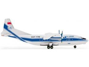 Herpa - Antonov An-12, Volga Dnepr Airlines CCCP-11746, SSSR, 1/200