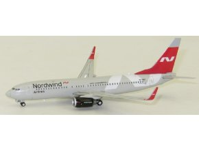 JC Wings - Boeing B737-800, dopravce Nordwind Airlines VQ-BDC, Rusko, 1/400
