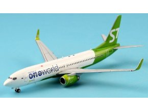 "JC Wings - Boeing B737-800, dopravce Airlines ""Oneworld"" VQ-BKW, USA, 1/400"