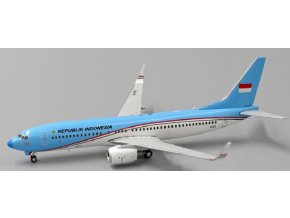 JC Wings - Boeing B737-8U3BBJ2, dopravce Indonesia Air Force A-001, Indonésie, 1/400