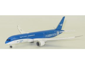 "JC Wings - Boeing 787-9 Dreamliner, dopravce Xiamen Airlines B-1356 ""United Nations GOAL Livery"", Čína, 1/400"