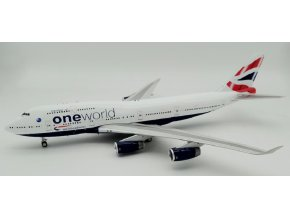 "Inflight200 - Boeing B747-400, dopravce British Airways G-CIVP ""Record Breaker"", VB, 1/200"
