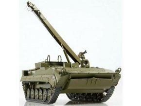 Russian Tanks - BREM-2 obrněné vyprošťovací vozidlo, sovětská armáda, 1/43