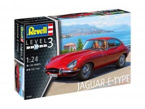 Revell - Jaguar E-Type (Coupé), ModelKit 07668, 1/24
