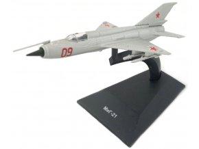 """Altaya - Mikojan-Gurevič MiG-21 """"Fishbed"""", sovětský svaz, 1/105"""
