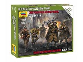 Zvezda - figurky sovětská pěchota, Wargames 6269, 1/72