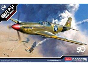 "Academy -  USAAF P-51 ""North Africa"", Model Kit 12338, 1/48"