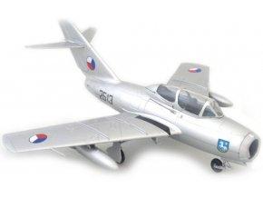 """Easy Model - Mikojan-Gurevič MiG-15 UTI (CS-102), československé letectvo, 30. stíhací bombardovací letecký pluk """"Ostravský"""", 1/72"""