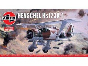 Airfix -  Henschel Hs123A-1, Classic Kit A02051V, 1/72