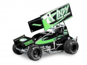 Revell - Indy Race Parts, #71 Joey Saldana, Plastic ModelKit MONOGRAM 4444, 1/24
