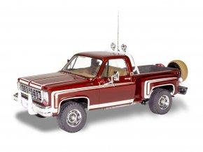 Revell - 76 Chevy Sports Stepside Pickup, Plastic ModelKit MONOGRAM 4486, 1/25