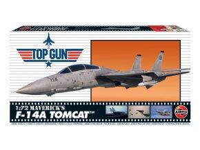 Airfix - Top Gun Maverick's F-14A Tomcat, Classic Kit A00503, 1/72