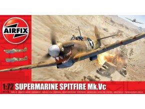 Airfix - Supermarine Spitfire Mk.Vc, Classic Kit A02108, 1/72