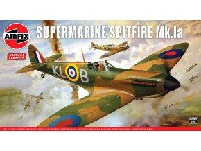 Airfix - Supermarine Spitfire Mk1a, Classic Kit A12001V, 1/24