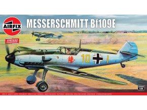 Airfix - Messerschmitt Bf109E, Classic Kit A12002V, 1/24