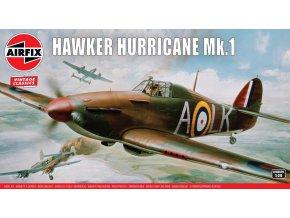 Airfix - Hawker Hurricane Mk.I, Classic Kit VINTAGE A14002V, 1/24