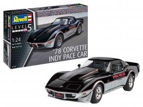 Revell -  '78 Corvette (C3) Indy Pace Car, ModelSet 67646, 1/24