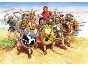 Zvezda - Greek Infantry V-IV B. C., Wargames (AoB) figurky 8005, 1/72