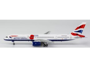 "NG Model - Boeing B757-200, dopravce British Airways ""Pause To Remember"" G-BPEK, VB, 1/400"